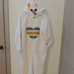 Xhilaration Alpaca Adult Onesie Fleece Zipster